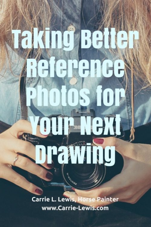 Taking Better Reference Photos for Your Next Drawing