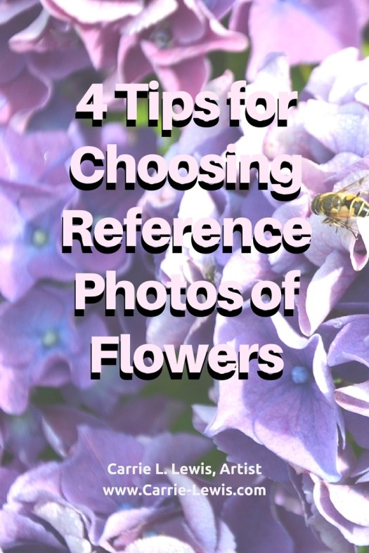 Tips for Choosing Reference Photos of Flowers