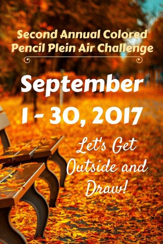 Second Annual Colored Pencil Plein Air Challenge