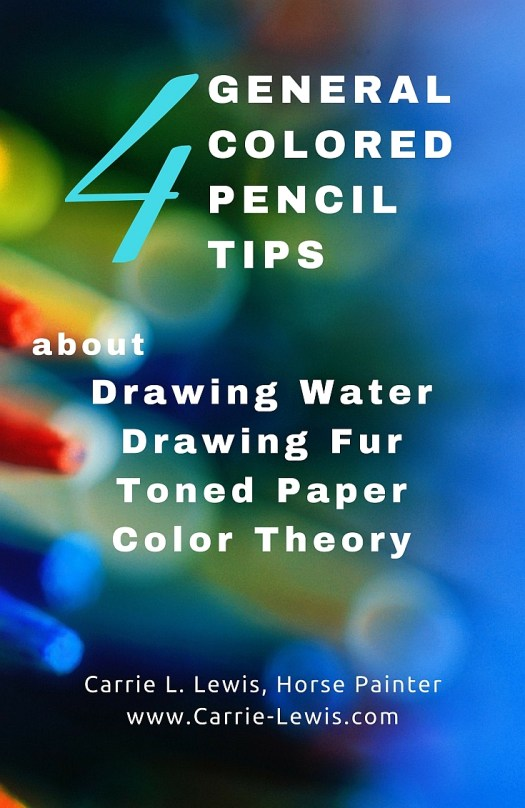 4 General Colored Pencil Tips