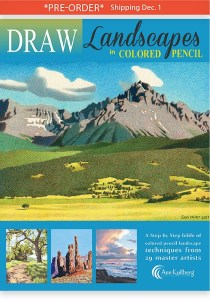DRAW Landscapes Book
