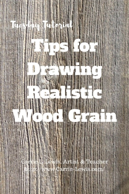 Tips for Drawing Realistic Wood Grain