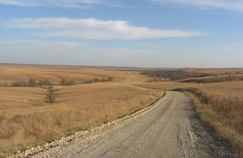 Choosing Colors for Outdoor Drawing - Flint Hills Fall