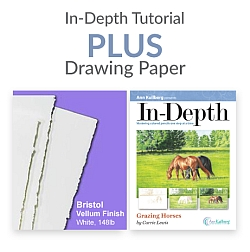 Grazing Horses In-Depth Tutorial with Paper 250