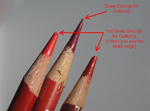 How to Draw Crisp Edges with Colored Pencils - Sharp Pencils