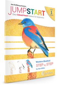 Blue Bird Colored Pencil Drawing Kits for Beginners