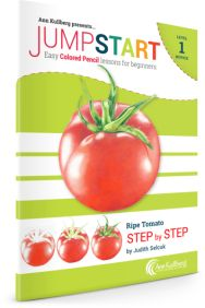 Red Tomato Colored Pencil Drawing Kits for Beginners
