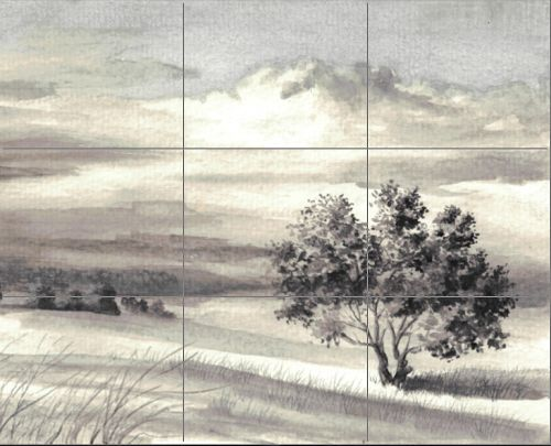 Drawing with Black and Gray Colored Pencils - New Composition