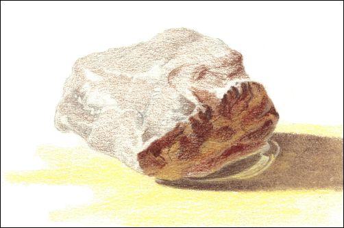 Draw Wet Stones - Step 5 Darken Values
