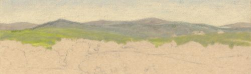 Fixing a Colored Pencil Mistake on Sanded Paper - The Mistake