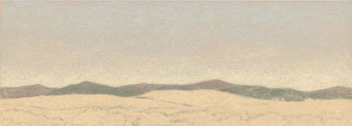 How to Draw Far Distance on Sanded Art Paper - Step 3