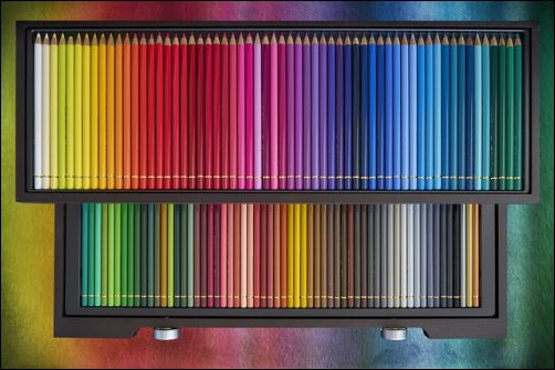 Reasons to Try Colored Pencils - Inexpensive