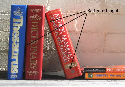 Reflected Light on Books 2