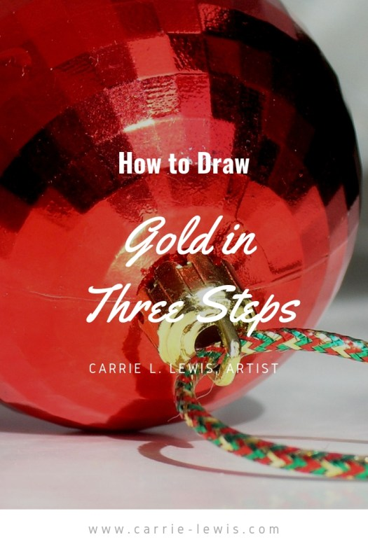 How to Draw Gold in Three Steps