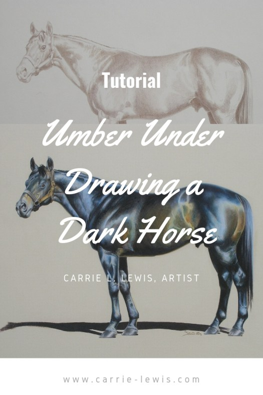 The Umber Under Drawing Method - Dark Horse