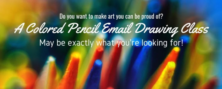 Colored Pencil Email Drawing Classes