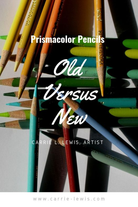 Old Prismacolor Pencils vs New Prismacolor Pencils