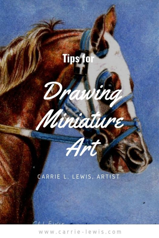 Tips for Drawing Miniature Art