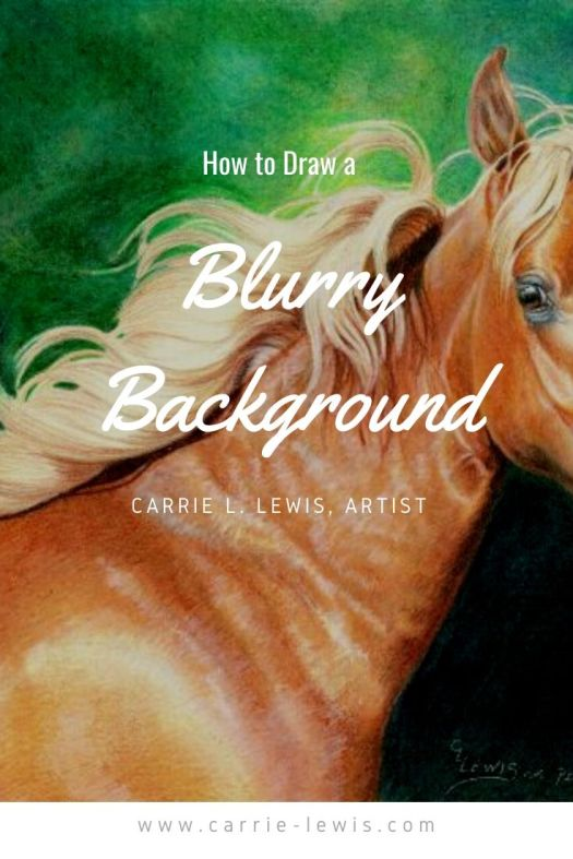 How to Draw a Blurry Background