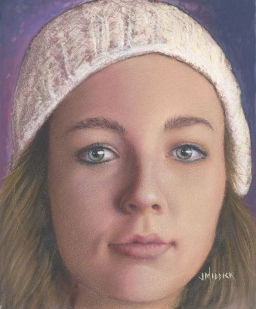 See how John Middick drew this portrait step-by-step in the February 2020 issue of CP Magic.