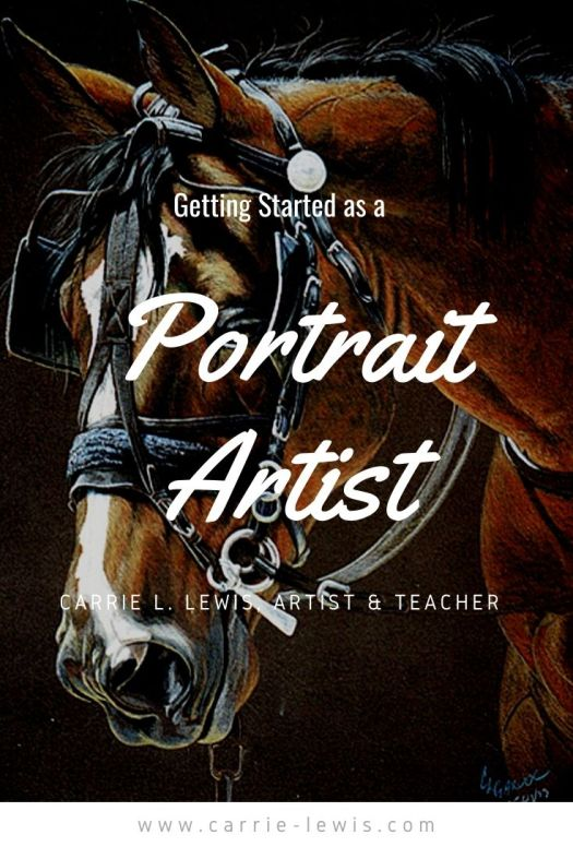 Getting Started as a Portrait Artist