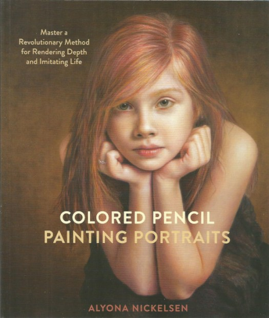 Colored Pencil Painting Portraits Book Cover
