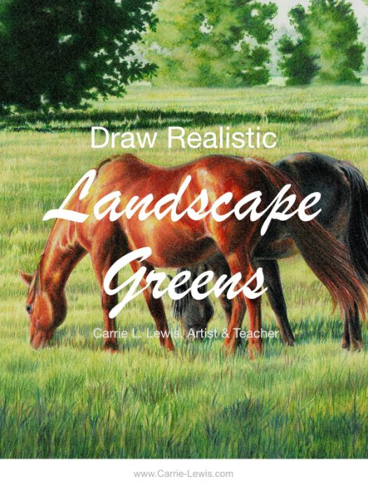 Learn how to draw realistic landscape greens.