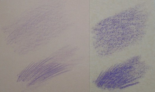 Comparing Stonehenge and Sanded Art Papers