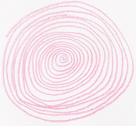 5 drawing exercises with curving lines