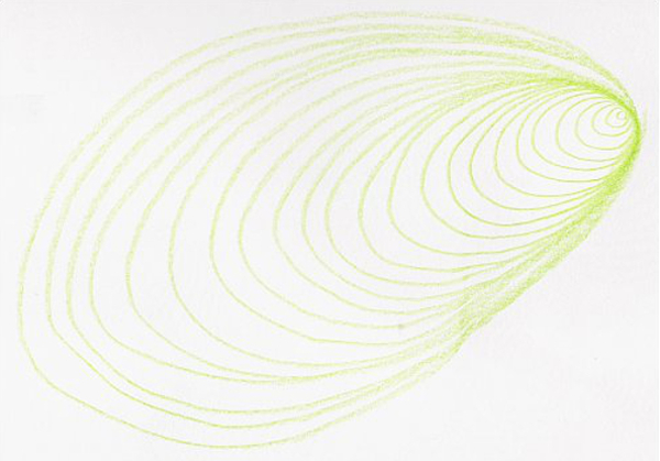5 drawing exercises with curving lines to help you improve line control for graphite, colored pencil, and other forms of drawing.