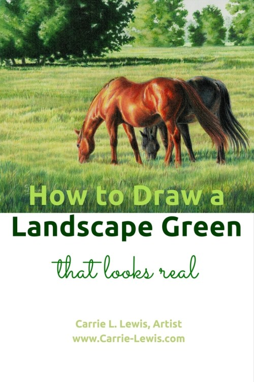How to Draw a Landscape Green that Looks Real