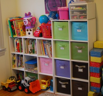 Organized Playroom!