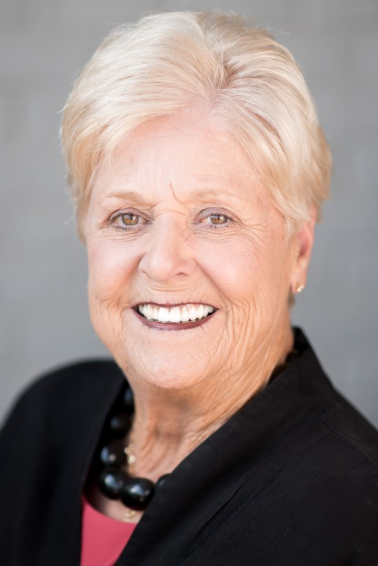 Blonde woman smiling for a commercial headshot session Professional Portrait by Carrie Anne White Charlotte NC Photographer