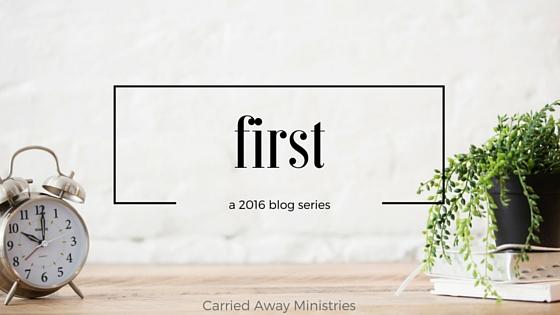 first - blog series