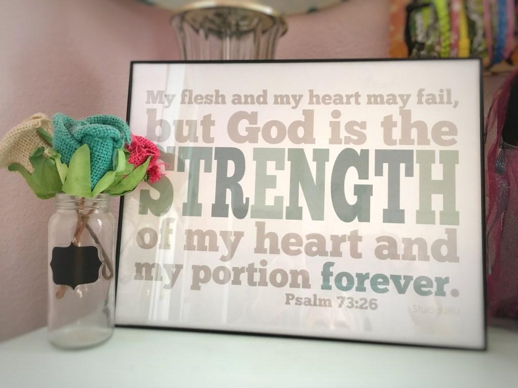 Psalm 73 print