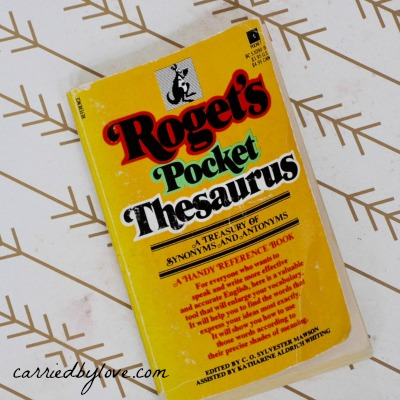 Roget's Pocket Thesaurus