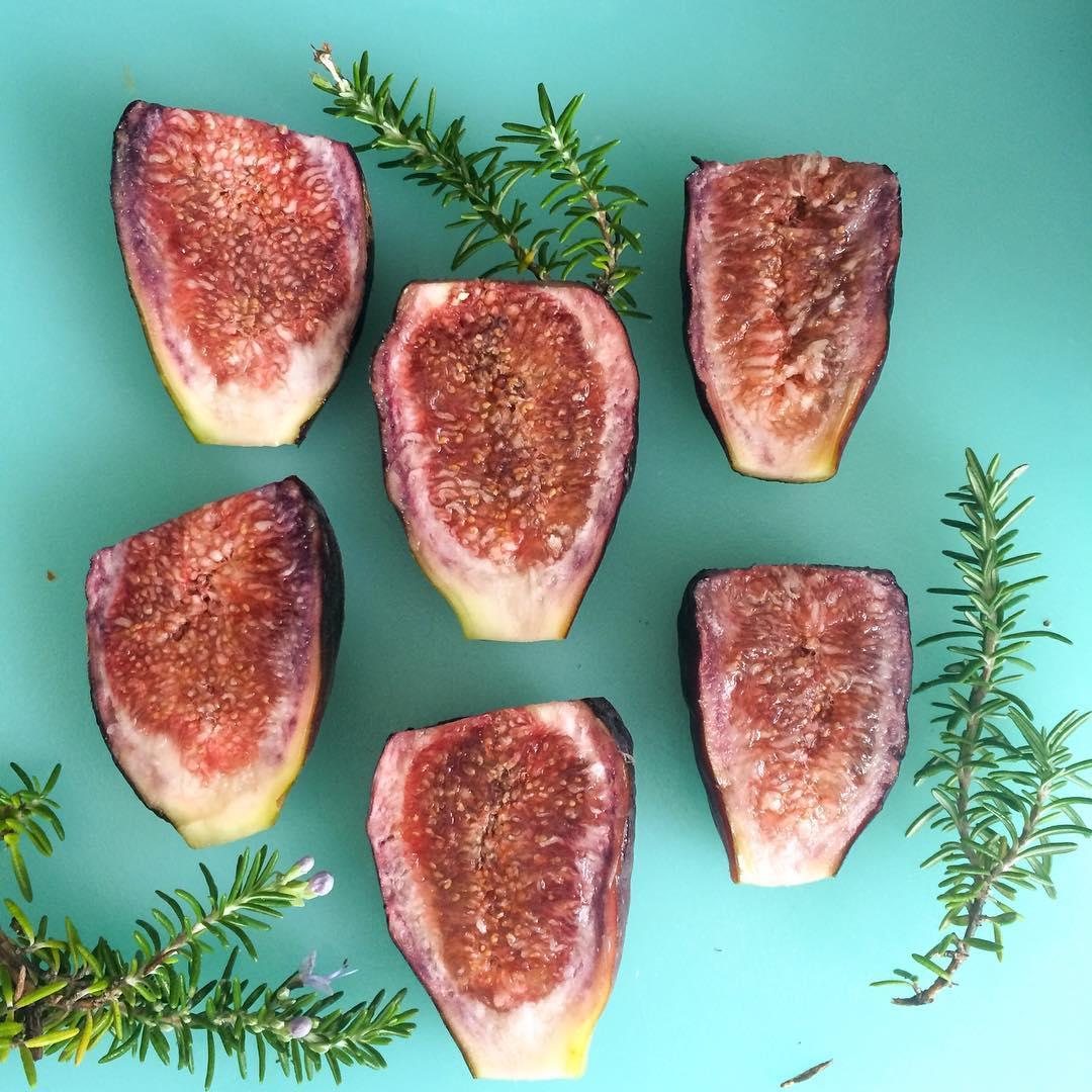 Summer figs rosemary natureinspired composition goodfood backyardbounty carrielederer