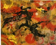 Ikonoclast Panzerism, 1986, Canvas cm 145X175