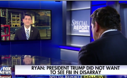Ryan: Comey Was Compromised In Investigation [VIDEO]