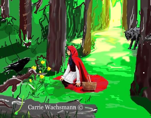 Little Red Riding Hood 2 - Carrie Wachsmann ©