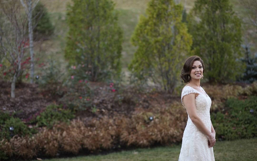 Real Bride: Lori, A Classic Bride From Connecticut