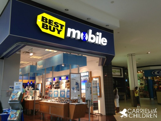 Holiday Shopping At Best Buy Mobile Specialty Stores Carrie With Children