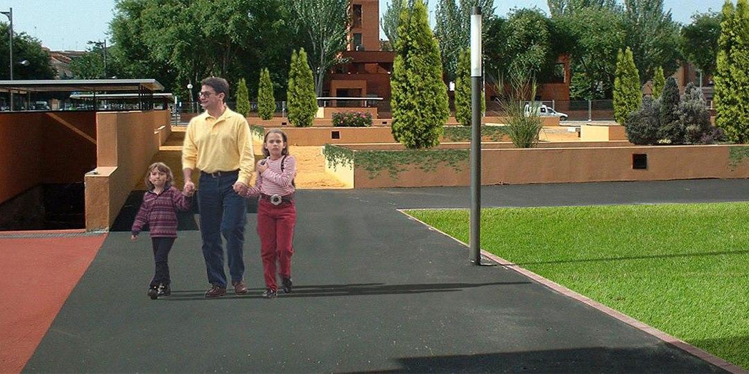 Plaza Pública en Aranjuez en Madrid