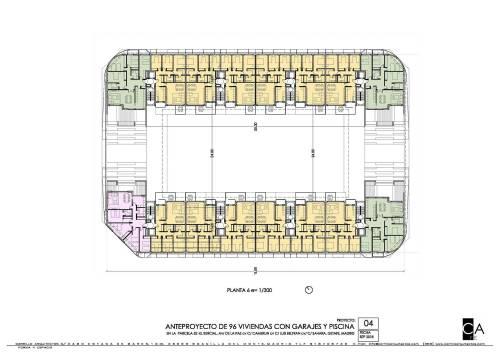 96 viviendas new-line Getafe