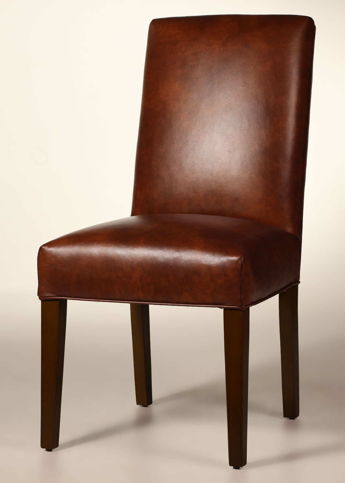 Bristol Leather Parsons Dining Chair