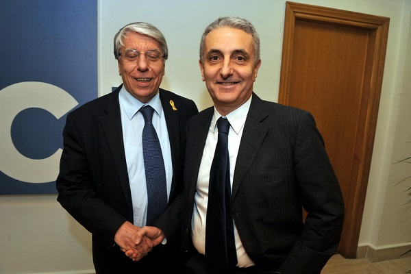 Gaetano Quagliariello e Carlo Giovannardi.