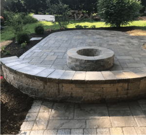 Outdoor Fireplaces and Fire Pits Carroll Landscaping