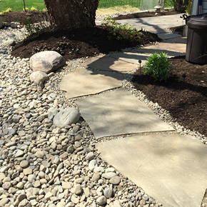 French Drain Installation Carroll Landscaping, Inc.