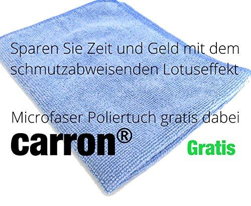 mikrofasertuch gratis carron lotuseffekt versiegelung dusche duschwand glas acryl gegen kalk aktion - Glasdusche Kalk