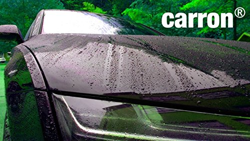Abperleffekt Neuwagenglanz mit Lotuseffekt mit carron® Autopolitur Lackversiegelun